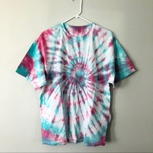 Hand-dyed Tie Dye T-shirt